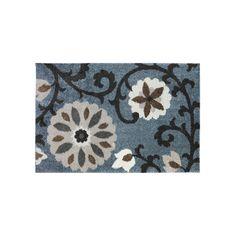 Mohawk Home Augusta Hazelhurst Floral Rug - 10' x 14', Blue