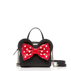 Minnie Mouse-inspired accessories from Kate Spade | See the new items in the Kate Spade New York For Minnie Mouse Collection | [ http://di.sn/6009B43Av ]