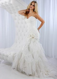 For Hourgl Shaped Lace Wedding Mermaid Cute Dress Colored Dresses