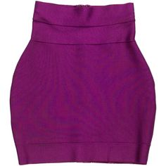 Herve Leger Bandage Skirt ($125) ❤ liked on Polyvore featuring skirts, purple, bandage skirt, herve leger skirt, purple bandage skirt, hervé léger and purple skirt