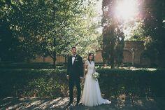 Fotografías de novios en su boda