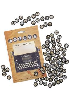 15. ModCloth party favors  Creative Spelling Magnet Set $12.99  #modcloth #wedding