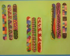 Native American Stick Game/ Weaving and several other Native American art lessons!