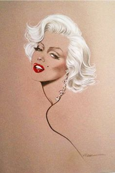 ★ Marilyn Monroe ♡ Old Hollywood ★ Arte Marilyn Monroe, Marilyn Monroe Drawing, Marilyn Monroe Tattoo, Marilyn Monroe Painting, Pin Up Retro, Foto Picture, Arte Pop, Norma Jeane, Old Hollywood