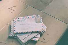 parcel post- old looking style. letters for traveling