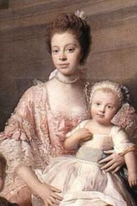 Queen Charlotte of England and Ireland. [Princess] Sophie Charlotte born in 1744. She was the first Black Queen of England. She was the eighth child of the Prince of Mirow, Germany, Charles Louis Frederick, and his wife, Elisabeth Albertina of Saxe-Hildburghausen. In 1752, when she was eight years old, Sophie Charlotte's father died. As princess of Mecklenburg-Strelitz, Sophie Charlotte was descended directly from an African branch of the Portuguese Royal House, Margarita de Castro y Sousa.