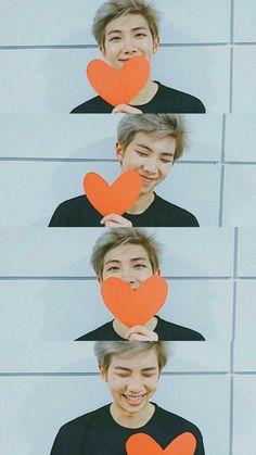 He gives them affection. In which Kim Namjoon is their baby, and they won't let him go. Jimin, Bts Selca, Rapmon, Bts Bangtan Boy, Mixtape, Taehyung, Kim Namjoon, Bts Rap Monster, Album Bts