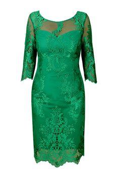 suknia Carmen morska zieleń haftowany tiul prz.jpg