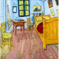 d681acf69e722c Van Gogh - Bedroom at Arles Shower Curtain on CafePress.com Google Art