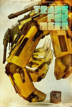 Tomasz Opasinski : Transformers Movie Poster