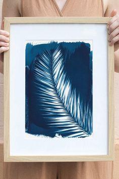 Add color to your walls in one step: hang this print.