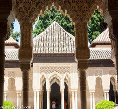 The Alhambra in Granada ~ The Jewel of Islamic Spain