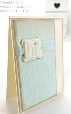 POOTLES Stampin Up UK Soft Afternoon Picnic Sky 2