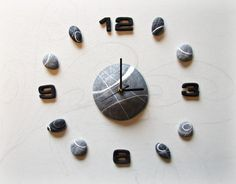 Large Wall Clock Self Adhesive Clocks Trendy by Sognoametista