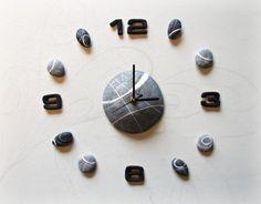Large Wall Clock Self Adhesive Clocks Trendy by Sognoametista