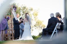 Such a wonderful day for a ceremony at Thomas Fogarty Winery | Carmen Alvarez Photography