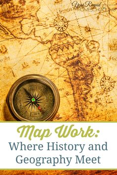 Map Work - Where History and Geography Meet - Year Round Homeschooling Geography Activities, Geography Lessons, Teaching Geography, World Geography, Teaching History, Geography Map, History Education, Teaching Time, Homeschool Curriculum