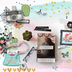 Shadow Box, Digital Scrapbooking, How To Find Out, Make It Yourself, Creative, Sweet, Summer, Candy, Summer Time