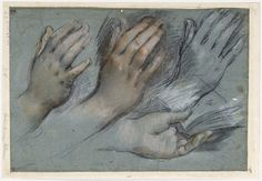 Federico Barocci Studies for the Hands of the Virgin Mary for the Annunciation Staatliche Museen zu Berlin, Kupferstichkabinett