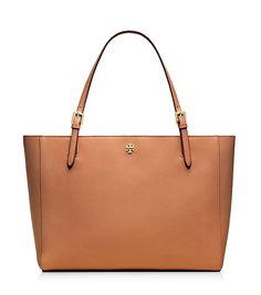 Tory Burch York Buckle Tote - in the brown which is called luggage or the black