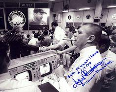 Chris Kraft autograph-signed NASA Mission Control Apollo Program Space LOOK!