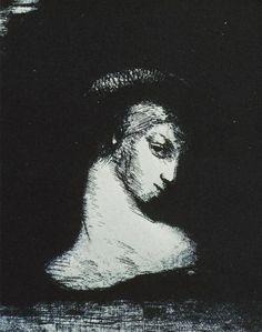 odilon redon, perversity (1891).