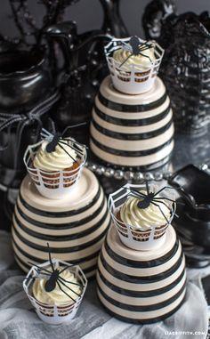 #Halloweendecorations #cupcakedecorations:
