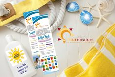 Sundicators UV Wristbands Protect Against Sunburn