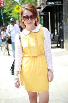 Street Style From the First Weekend of Summer in New York City -- The sleeves