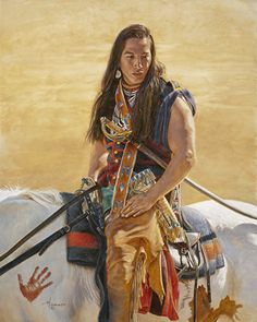 White Wolf : Incredibly Detailed Native American Paintings By Ann Hanson Native American Paintings, Native American Pictures, Native American Artists, Native American Women, American Indian Art, Native American History, American Indians, Western Artists, American Symbols
