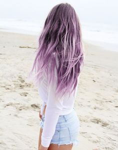 40 Purple Balayage Looks
