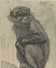 Tekeningen van dieren-Verzameld werk van Marleen Ram - Alle Rijksstudio's - Rijksstudio - Rijksmuseum