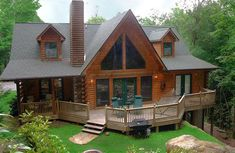 cabin on lake                                                       …