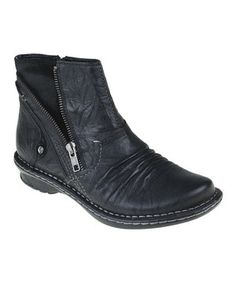 This Earth Black Poplar Boot by Earth is perfect! #zulilyfinds