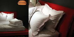Caravance sheets with nice pillow details