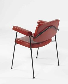 Pierre Paulin; #CM 197 Armchair for Thonet, 1958.