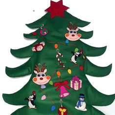 Brad din fetru Christmas Ornaments, Holiday Decor, Home Decor, Decoration Home, Room Decor, Christmas Jewelry, Christmas Baubles, Christmas Decorations, Interior Decorating