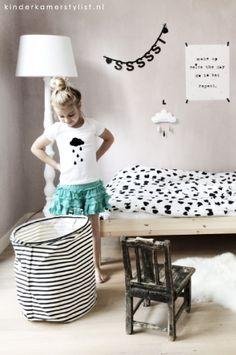 #Gedeelde #kinderkamer #binnenkijken | Pamela Dosal via Kinderkamerstylist