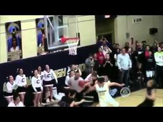 Faith in Humanity restored - Basketball player passes the ball.