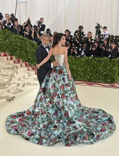 Amal Clooney Just Wore Pants with Her Met Gala Dress and Our Jaws Are on the Floor - HarpersBAZAAR.com