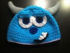 Sully Monsters Inc hat by CrochetMeNerdy on Etsy, $15.00