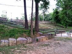 Thomasina's Words: Campbellton Outdoor Amphitheater - A Magical Elf M...