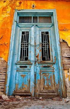 Kavala, Greece door
