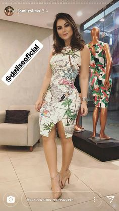 boutiquefeel / Floral Print Deep V Slip Maxi Dress Elegant Dresses, Sexy Dresses, Cute Dresses, Casual Dresses, Fashion Dresses, Satin Dresses, Belted Shirt Dress, Tee Dress, Bodycon Dress
