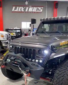 Jeep Wrangler highly spec'd Jeep Wrangler Tj, Jeep Wrangler Unlimited, Badass Jeep, Best Luxury Cars, 4x4 Trucks, Jeep Grand Cherokee, Dream Cars, Autos