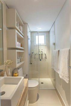 salle de bain couleur taupe, idee amenagement salle de bain 6m2