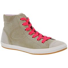 Call It Spring™ Legman High-Top Sneakers Gray ❤ liked on Polyvore