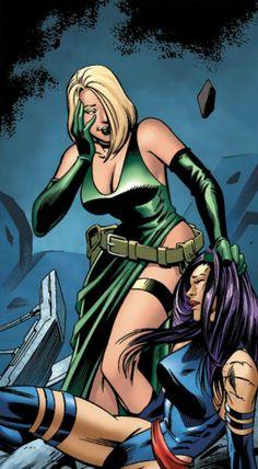 Psylocke vs Empress Hydra