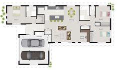 'Darwin' G.J. Gardner floor plan.