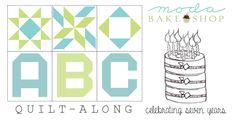 ABC Birthday Quilt-Along « Moda Bake Shop
